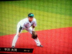 平沢サヨナラ安打で再びチャンス到来