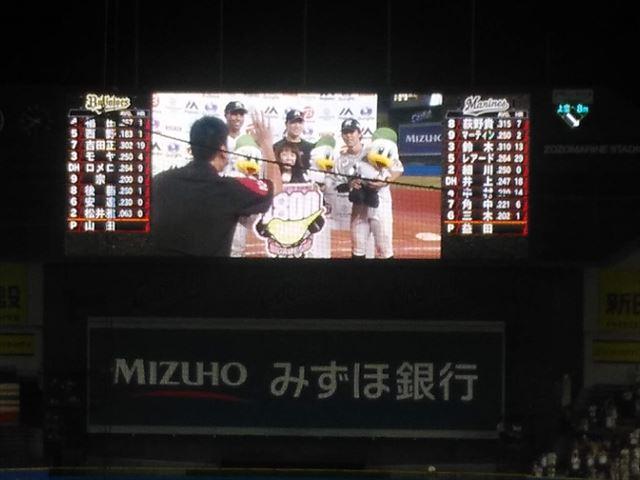 谷保さんアナウンス1800試合を勝利で飾った試合【一応現地観戦】